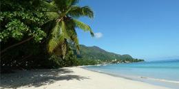 Beau Vallon Beach in Mahe Seychelles