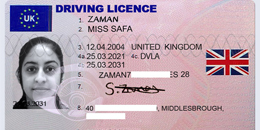 Driving License for Seychelles